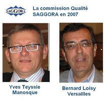 2007, la 1ère commission Qualité-certification ISO 9001