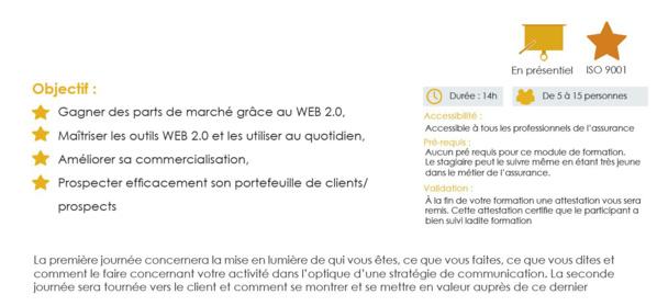 UV 23 - Comment utiliser le web 2.0 pour développer son chiffre d'affaires
