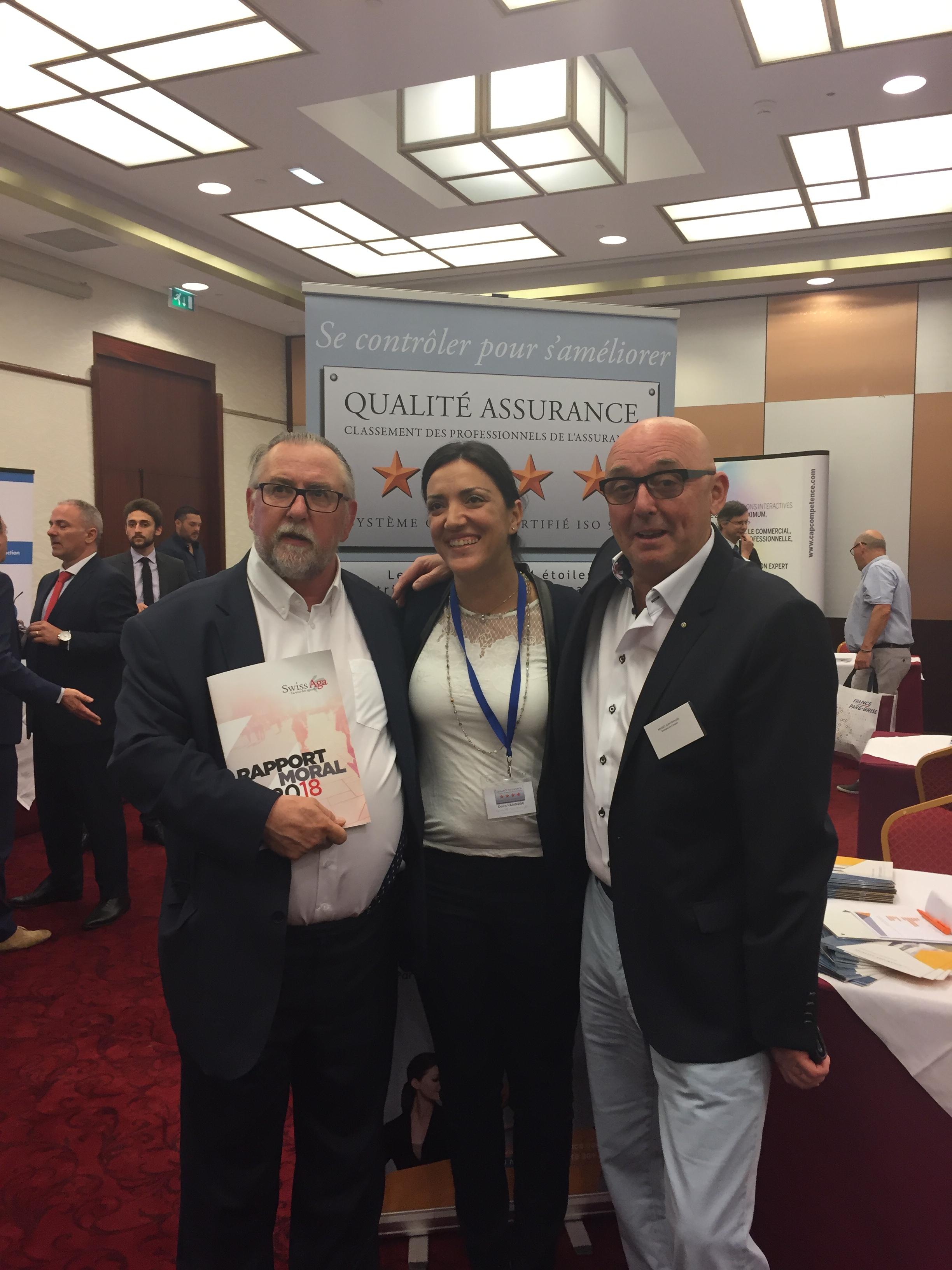 Mr Guy GEOFFROY, Mme Dorra HAMMAMI et Mr Jean François ROUSSET