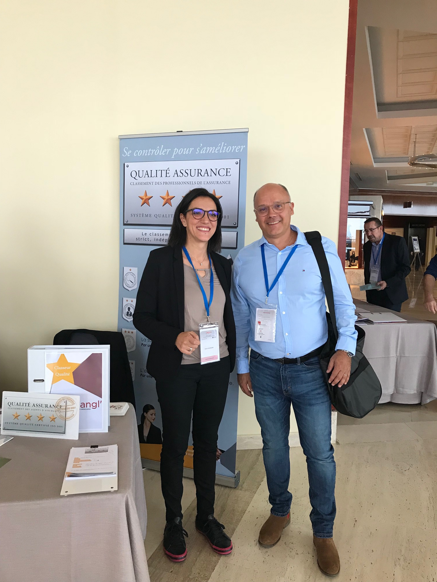 Mme Dorra HAMMAMI et Mr Yann BARACAND (président de région Alpes)