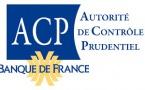 2010 Création de l'ACP, qui deviendra par la suite ACPR