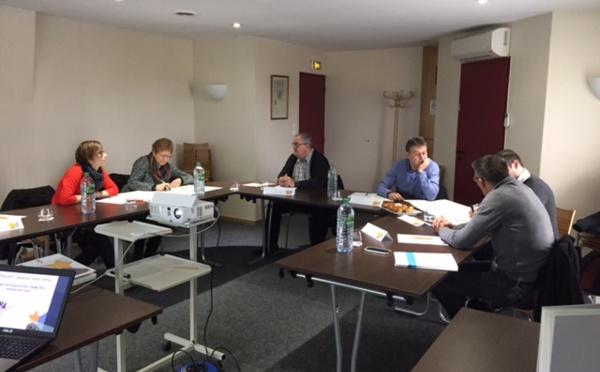 Premier groupe AREAS Vosges en formation de mise en conformité ACPR.