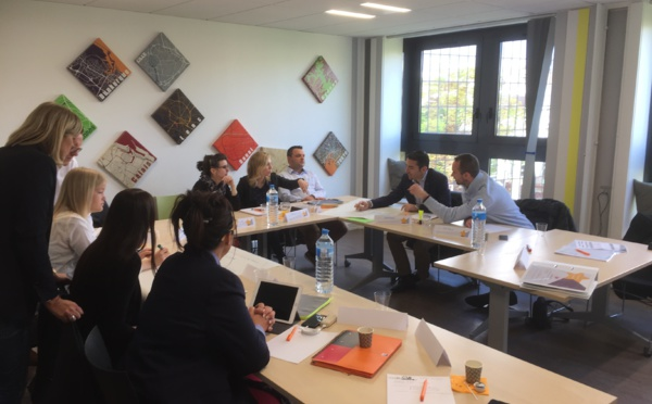 Les jeunes agents SWISSLIFE NORD débutent une session de formation de mise en conformité ACPR !