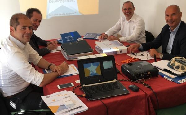 Les agents SWISSLIFE en formation de remise aux normes ACPR à Aix en Provence !
