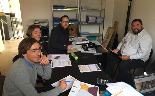 Le cabinet de courtage PENN AR BED FINANCES en formation de mise en conformité ACPR à Brest