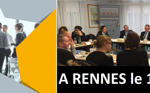 A Rennes le 15 mars 2018, formation Remise aux Normes ACPR/Qualité Assurance™